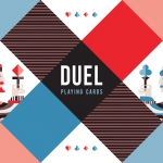 DUEL Playing Cards. The first deck of the Artists Series by Vanda Cards