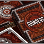 GRINDERS Playing Cards by Randy Butterfield. Make a lot of money, but slowly…
