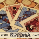"NIPPONIA Playing Cards. A deck ""about Japan"""