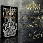 Artist's thoughts: Grotesk Macabre Playing Cards. The darkest deck by Lotrek