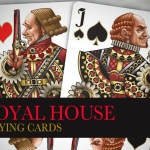 ROYAL HOUSE Playing Cards. The symbol of a delicate and intriguing ROSE