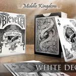MIDDLE KINGDOM BICYCLE deck. Chinese culture and tradition in beautiful monochrome designs