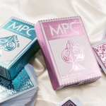 IMPRESSIONS FOIL FEMME decks. Feminine inspiration with metal shine and embossing