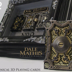 3D MECHANIZED deck second edition. Playing cards and art in motion