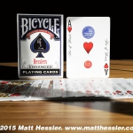 BICYCLE HESSLERS Playing Cards. Functional coloring for everyone