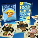 BICYCLE VINCENT'S ROYALS Playing Cards. The reinterpretation of a great master's portraits
