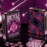 BICYCLE STARLIGHT SHOOTING STAR Playing Cards. Close your eyes and make a wish