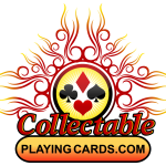 Latest releases by Collectable Playing Cards decks. Fire and modern classicism surrounded by explosions