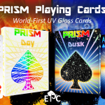 PRISM: DAY y DUSK Playing Cards. A trilogy of bright relief