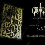 GROTESK MACABRE BLACK GOLD Edition. Foiled wherever you watch