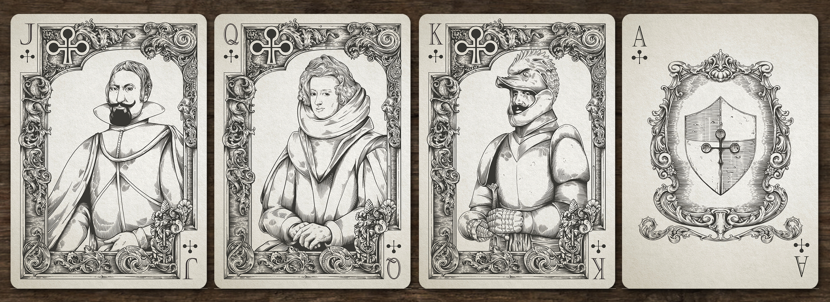Medieval Christmas Cards