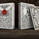 MEDIEVAL Playing Cards. Silver or gold for your next tournament against a dragon