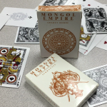 MONGOL EMPIRE Decks. Genghis Khan will become (augmented) reality in your playing cards