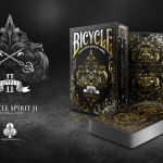 BICYCLE SPIRIT II decks. Elegant playing cards with a mystical touch