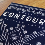 CONTOURS Playing Cards. A double line that hides many secrets