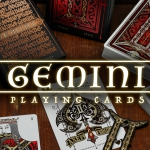 Gemini Playing Cards. The beauty of the imperfect symmetry
