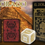 EL DORADO – MAYA Playing Cards. The legend of gold in ancient civilizations