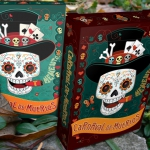 CARNAVAL DE MUERTOS Decks. Lively playing cards to celebrate death