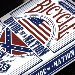BICYCLE DIVIDE OF A NATION Playing Cards. Political conspiracies and hidden treasures