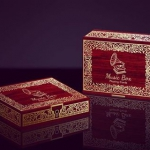 THE MUSIC BOX Playing Cards. Open the lid and enjoy the melody