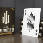 METROPOL ONE HUNDRED Playing Cards. One hundred minimalist decks for one hundred backers
