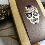 CALAVERAS DE AZUCAR Luxury Edition Playing Cards. Russia and Mexico meet in the most luxurious tuck case