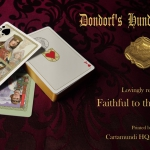 "DONDORF ""HUNDERTJAHKARTE"" Playing Cards. The most beautiful restoration of a centenary deck"