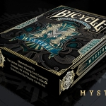BICYCLE MYSTIQUE BLUE Playing Cards. The soul of the deck is blue now