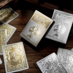 IMPRESSIONS GOLD and SILVER playing cards. The jewels of MPC's Crown