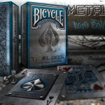 RIDER BACK METAL DECK BLUE Edition Playing Cards. Here it is! And you can not miss it