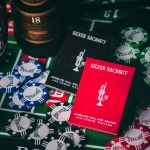 SILVER SACKBUT Playing Cards. The vintage spirit of Las Vegas casinos