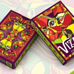 VIZAĜO Playing Cards relaunch. A new opportunity for happiness and color