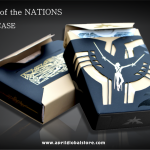 HEROES OF THE NATIONS LUXURY EDITION. A beautiful deck inside a beautiful and exclusive tuck case