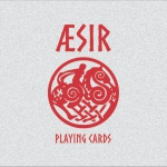 AESIR FOIL TUCK Playing cards. Viking mythology in the most luxurious tuck cases
