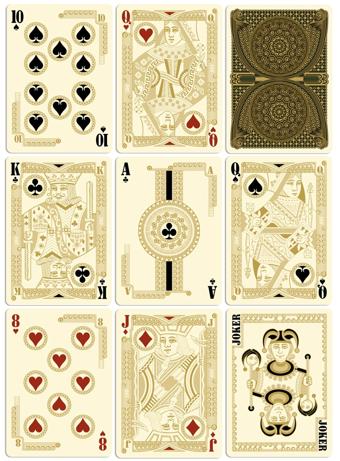 Collectable Playing Cards celebrate their hundred. Congratulations ...