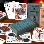 THE GUARD Playing Cards. A classic design with an exclusive secret