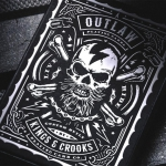 OUTLAW Playing Cards. The beauty of the wild speed