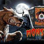 BICYCLE MONSTER Playing Cards. Monsters are not so terrifying