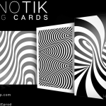 HYPNOTIK Playing Cards. Stare fixedly at this back