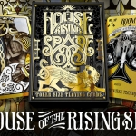 THE HOUSE OF THE RISING SPADE Playing Cards. The key to magic and mystery