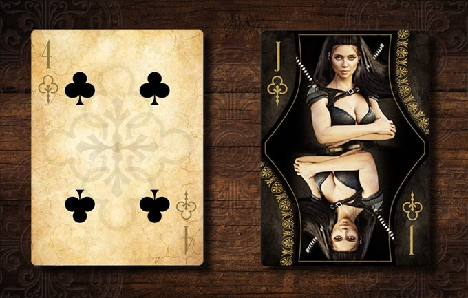 ANTAGON ROYAL Playing Cards. The last and best version of