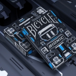 BICYCLE BIONIC Playing Cards. The struggle for technological freedom