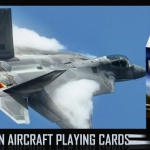 MODERN AIRCRAFT Playing Cards. The powerful flying machines take off again!