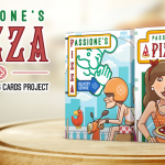 """PIZZA Playing Cards. The """"Passione"""" for a delicious deck"""