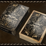 VOODOO Playing Cards. Disturbing skulls with a top hat