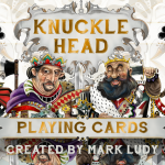 KNUCKLE HEAD Playing Cards. The deck where the characters come to life