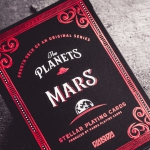THE PLANETS: MARS Playing Cards. The fourth stop in a trip through the solar system