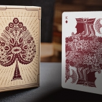 PAPERCUTS deck. Paper, blade, patience and… playing cards!