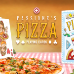 "PIZZA Playing Cards. The deck with the perfect ingredients and cooked with ""Passione"""