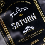 THE PLANETS: SATURN Playing Cards. The planetary deck with rings